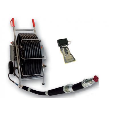 80-250mm管道切割机器人 竖直管道切削打磨 管道修复 推杆式气动修复【超强大功率】MICRO