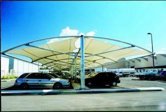 膜结构车棚厂家-创锦帆装饰膜结构-太仓车棚