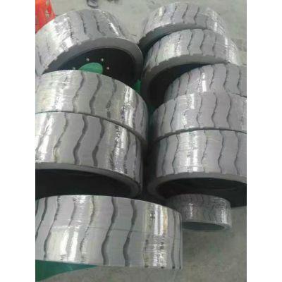 出售临工高空作业车实心轮胎,10米剪叉车轮胎,实心橡胶轮胎