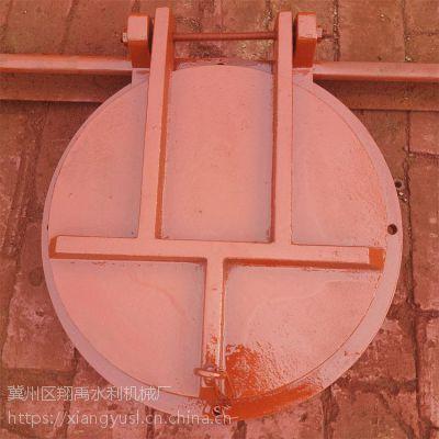 dn800浮箱式拍门 铸铁拍门 侧开式拍门 现货供应 污水拍门