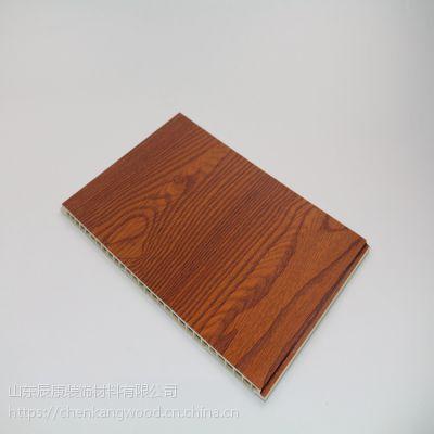 宜宾县竹木纤维40公分宽平缝集成墙板宾馆装饰吊顶好看吗