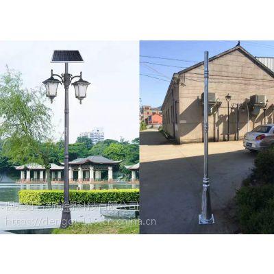 石家庄太阳能庭院灯厂家/石家庄小区用景观灯/LED一体化庭院灯