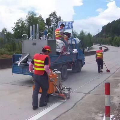 全国供应人行道高架桥自走式热熔划线一体机 高速公路国道省道县道人行道交通标志标线车