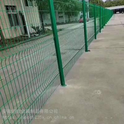 批发开封县双边丝护栏网 高速公路框架铁丝网 围栏围墙养殖网片 家用隔离网栅