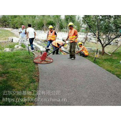 青岛市水泥压花地面艺术李沧区压花地坪的特点c25