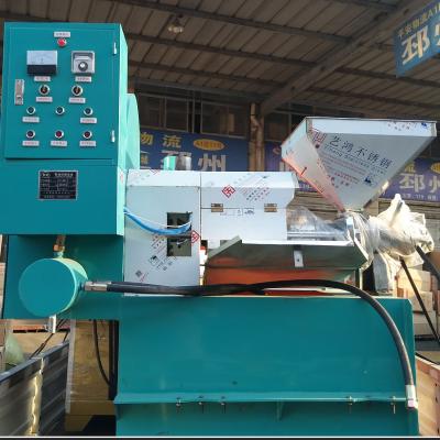 南陵多功能花生榨油机全自动压油机价格 安徽大型菜籽挤油机出售