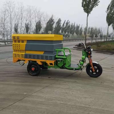 多功能电动四轮三轮高压清洗车物业道路小型冲洗车沿石泥浆冲水车清扫车