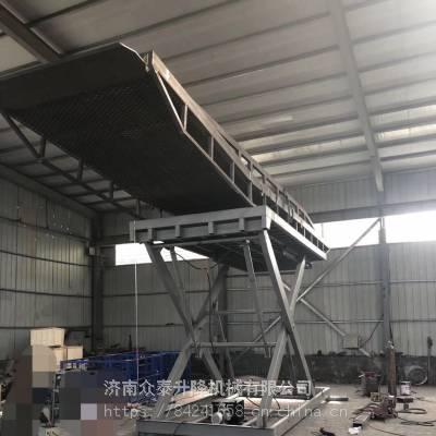 铜川SJD固定剪叉式升降机价格 固定剪叉式液压电动载货平台 载重大运行稳