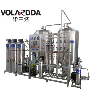 柳州汽车零件生产用超纯水设备 重工业用华兰达EDI装置 生产用水有保障