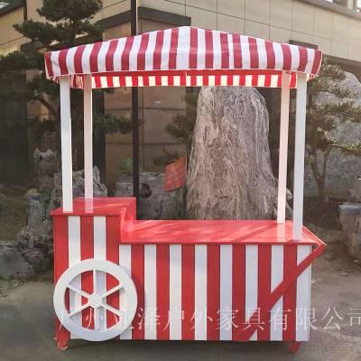 游乐园樟子松实木售卖亭 高铁站便民服务超市售货车 湖北武汉 广告活动促销售卖车