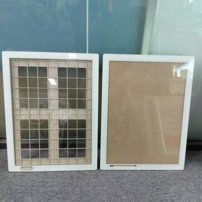 铝合金平面框ABS塑料背板3mm钢化玻璃45*60cm***广告框
