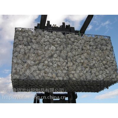 佰发厂家直销石笼网箱7*9镀锌石笼网垫价格低质量优