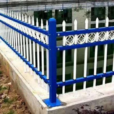 镀锌方管护栏@赵县锌钢护栏厂家@三横梁铁艺围栏