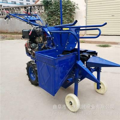玉米柴油收割机 多功能汽油玉米收割机 手推苞米收获机