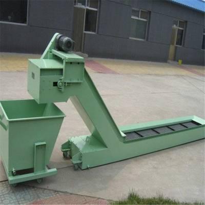 鑫万通钢铝拖链链板排屑机数控机床排屑机