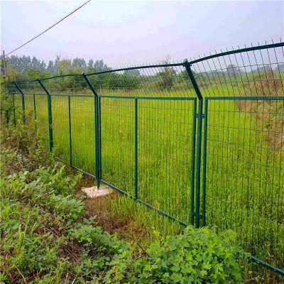 公路铁丝护栏 小区铁丝护栏 绿色护栏网定做