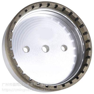 金刚石磨轮内齿金刚轮玻璃磨轮金刚磨轮砂轮双边轮厂家直供