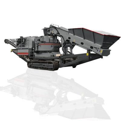 环保高效制砂机 建筑垃圾破碎站 石灰岩制砂机设备