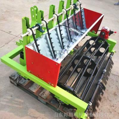 拖拉机牵引大蒜播种机