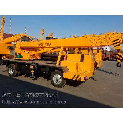 6吨自制吊车 6吨油电两用的小型吊车价格