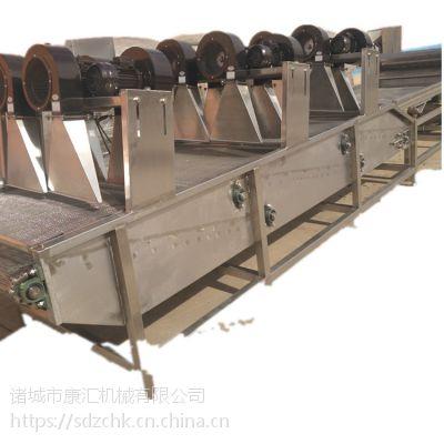 食品沥水风干机 FG-6米包装袋沥水机 康汇牌食品表面除水风干机