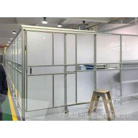 车间防护屏障 机器人围栏