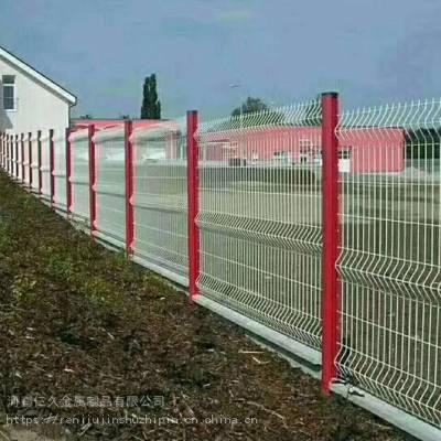 周口圈地围栏网 绿色围栏铁丝网 高速公路护栏网 果园防盗网 大量现货
