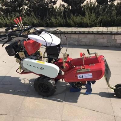 直销果园施肥开沟机 土豆开沟培土机 手扶式草莓种植开沟机