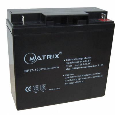 矩阵MATRIN蓄电池NP17-12/12V17AH矩阵蓄电池6FM20/12V20AH包邮