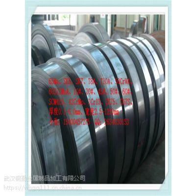 65Mn淬火硬度46-48高强度高弹性钢带 软态可弯折加工冷轧工艺弹簧钢板