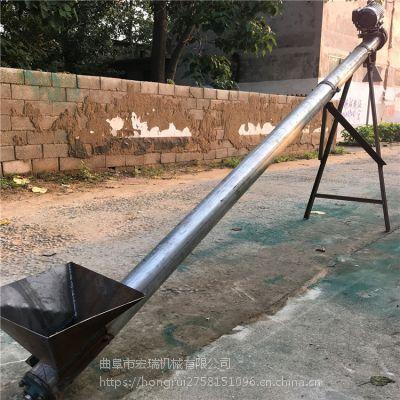 湖南衡阳不锈钢螺旋上料机 洗衣粉输送机 颗粒提升机价格