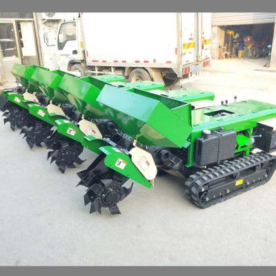 果园管理一体机 履带式旋耕松土机 自走式挖沟回填机 润华机械