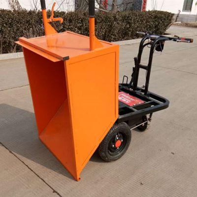 牛羊养殖场电动拉粪车蔬菜大棚电动平板运输车绵阳矿用三轮车
