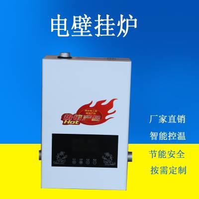 电壁挂炉家用220v智能电采暖炉厂家落地式电锅炉