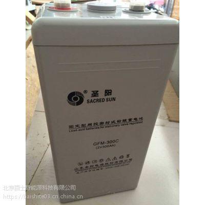 圣阳蓄电池 GFM-300C 铅酸蓄电池 容量300AH 支持报备
