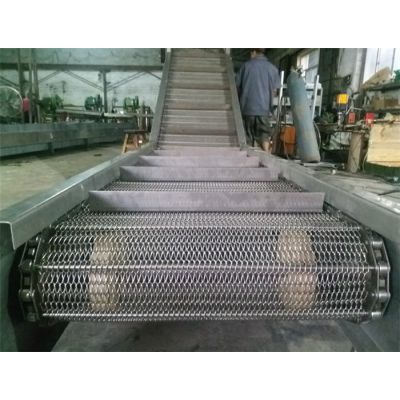 耐腐蚀食品输送网带-宁波网带输送机-森喆不锈钢网带价格