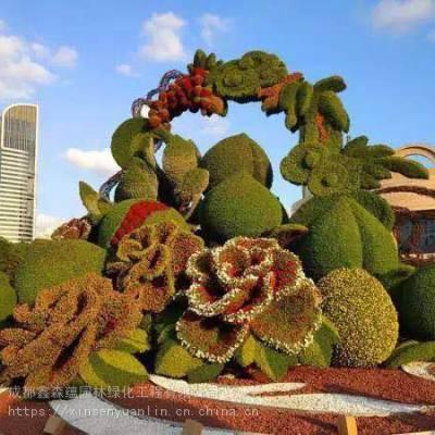 成都仿真空地户外绿雕仿真植物造型制作 大型立体景观雕塑