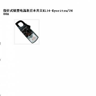 中西指针式钳型电流表日本共立 型号:KL14-Kyoritsu/2608A库号:M204387