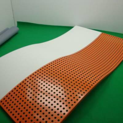 铝乐品牌氟碳铝单板幕墙厂家定制价格低 镂空雕花冲孔木纹石纹铝单板
