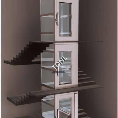 厂家定做2人家用电梯、智能家用电梯、小型家用电梯、运行平稳可靠液压家用电梯