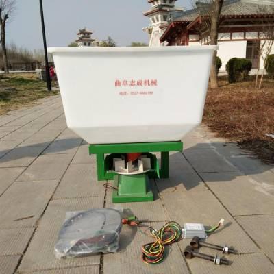 高效率电动施肥器 家用小型施肥器 前置化肥抛洒机