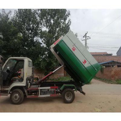 河南勾臂式垃圾车价格-商重环保货源充足-小型勾臂式垃圾车价格