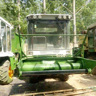 大型160滚刀式青贮饲料机 玉米秸秆切碎揉丝机牧草收割青储机