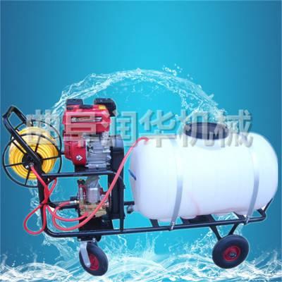 猪场消毒打药机 高压远程的喷雾器 推车式喷药机
