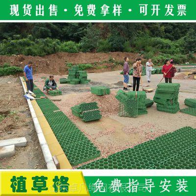 北京HDPE塑料植草格生产厂家 塑料植草砖草坪格 小区停车场绿化带专用