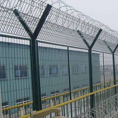 宁德钢铁丝网-铁丝网围栏定做-绿色边框护栏网
