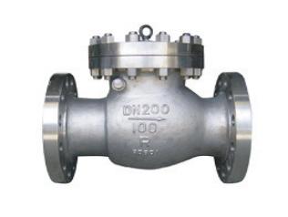 H44H旋启式止回阀可立卧安装,主要用于石油、化工、制药、电力等行业