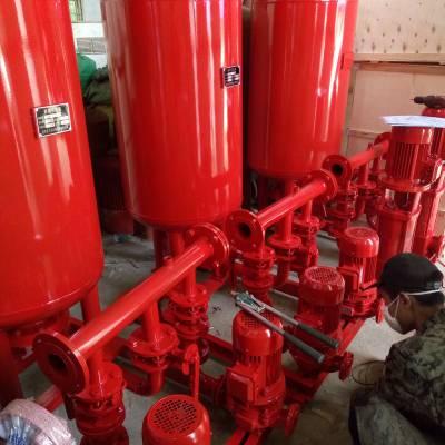 屋顶水箱间消防稳压设备ZW(L)-I-XZ-7 SQL800*0.6 气压罐 消防泵增压