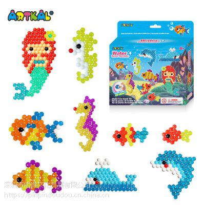 优肯水雾魔珠益智拼图玩具 培养孩子动手能力