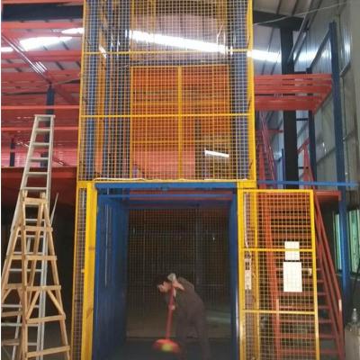 航天固定导轨式升降机 单双轨道厂房装卸货平台 厂房简易升降平台